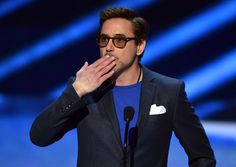 Robert Downey Jr. at the 41st Annual People's Choice Awards