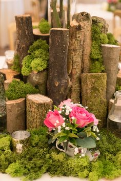 Woodland Garden, Spring Blooms, Crow, Natural Wood, Wedding Decorations, Delicate, Cottage, Weddings, Holiday