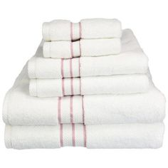 Darby Home Co Carlyll 6 Piece 900GSM  Premium Long-Staple Combed Cotton Towel Set Color: