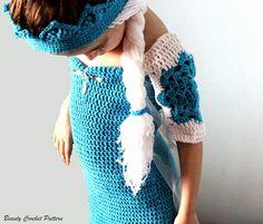 Beauty Crochet Pattern: Frozen Elsa Crochet Dress and Crown Pattern
