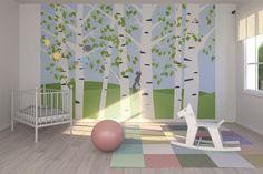 Birch Forest Spring -             Wall Mural & Photo Wallpaper -           Photowall