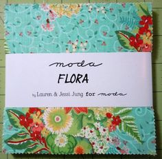 Flora by Lauren and Jessi Jung for MODA by oneygirl on Etsy