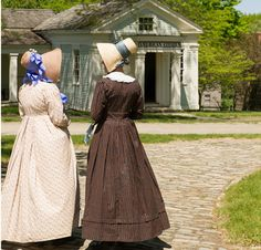 Genesee Country Village and Museum in Mumford, N.Y. on 700 acres has 68 19th-century structures that have been moved from their original sites, restored and authentically furnished. Costumed villagers portray 19th-century daily life, while craftspeople demonstrate spinning, weaving, cooking and other skills and crafts. The 1803 Walter Grieve's Brewery sports copper kettles and leather hoses and uses the same brewing practices as the early brewers to create their signature beer.