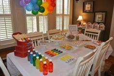 Rainbow party.