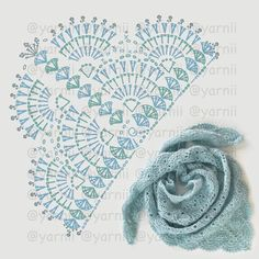 New Ideas crochet poncho patrones charts Crochet Shawl Diagram, Crochet Poncho Patterns, Crochet Motifs, Crochet Shawls And Wraps, Crochet Chart, Crochet Scarves, Crochet Clothes, Knitting Patterns, Lace Shawls