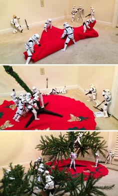 Stormtroopers Better At Putting Up Christmas Trees That Shooting ...