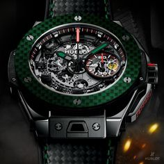 Hublot is celebrating once again with Mexico, an exclusive Ferrari-dedicated Big Bang watch, making it an immediate collector's item.