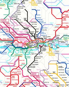 London Underground - at eQuilter.com