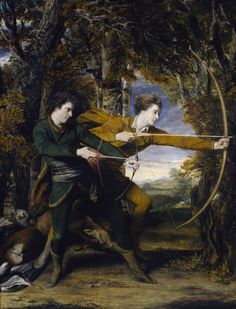 Sir Joshua Reynolds 'Colonel Acland and Lord Sydney: The Archers', 1769
