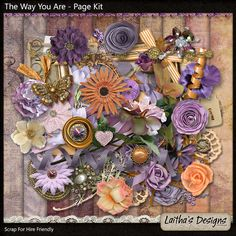 The Way You Are - Page Kit