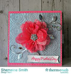 Mother's Day Card and Gift All in One! #DecoFoil