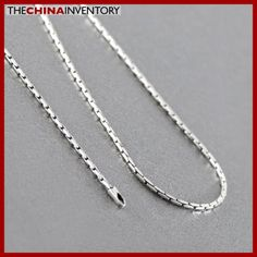 1MM 20` 925 STERLING SILVER BAMBOO NECKLACE SIL0901A Cheap Jewelry, Bamboo, Pendant Necklace, Sterling Silver, Diamond, Stuff To Buy, Fashion, Moda, Fashion Styles