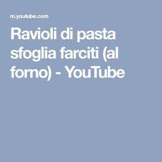 Ravioli di pasta sfoglia farciti (al forno) - YouTube