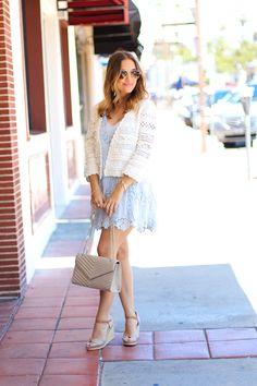 Love, Olia: Light Blue Breezy Dress
