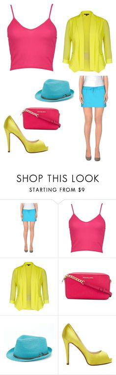 """Untitled #34"" by olive5000 on Polyvore featuring Pierre Balmain, Boohoo, City Chic, MICHAEL Michael Kors, Peter Grimm, Christian Louboutin and plus size clothing"