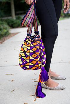 Wayuu Boho Mochila Bag