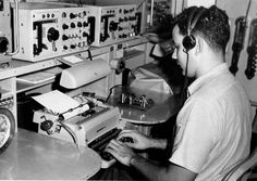 Radioman at work