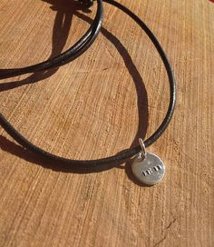 11:11 lucky silver necklace  wish necklace  adjustable