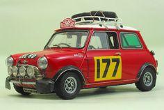 Morris Mini Cooper 1275 'S' Winner of 1967 Monte Carlo Rally.