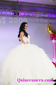 Who said a white dress was boring?!: http://www.quinceanera.com/quinceanera_dresses/?utm_source=pinterest&utm_medium=category-landing-page&utm_campaign=010115-category-landing-page-quinceanera-dresses