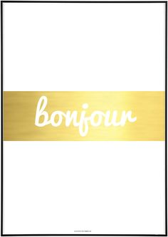Really want this SEALOE - Bonjour print!