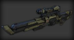 Latest progress: So the plan is to make a slightly futuristic long range scoped railgun. I've thrown together some quick ideas here: