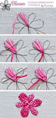 Embroidery Thread App wherever Diamond Embroidery Kits Near Me within Embroidery Library Fabric 101 outside Embroidery Tattoo Eyebrow till Embroidery Designs Logo Crewel Embroidery Kits, Embroidery Stitches Tutorial, Simple Embroidery, Learn Embroidery, Embroidery Needles, Silk Ribbon Embroidery, Hand Embroidery Designs, Embroidery Techniques, Machine Embroidery