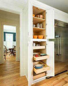15 Simple Kitchen Cabinet Ideas That Inspire You Tall Pantry