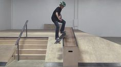 SMITH GRIND DOWN THE HUBBA | LIVE SKATE SUPPORT – Braille Skateboarding: Source: Braille Skateboarding