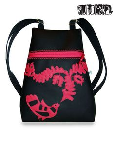 Drawstring Backpack, Leather Bag, Purses And Bags, Textiles, Backpacks, Traditional, Fashion, Moda, Fashion Styles