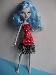 Handmade Clothes for Monster High Doll by MonstaFashion on Etsy, €6.05