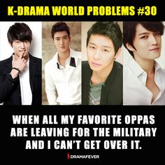 It's the worst! Comfort yourself by re-watching your oppas' dramas with DramaFever Premium, now $0.99/month