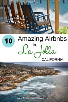 10 Best La Jolla Airbnbs: Beach Retreats for Every Budget Rock Pathway, California Attractions, California Travel Guide, La Jolla Beach, Ocean Sounds, Surf Shack, Rooftop Deck, Beach Cottages, Unique Hotels