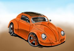 Orange Beetle Coupe by Britt8m on DeviantArt