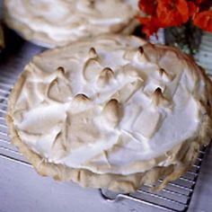 The addition of fresh raspberries makes for a sweet surprise in this otherwise standard lemon meringue pie.