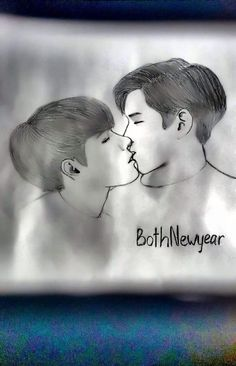 Bothnewyear kiss