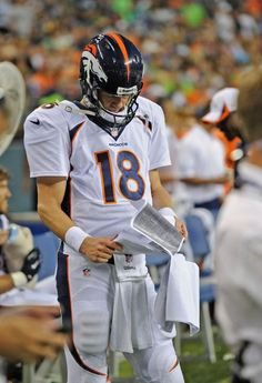 Peyton Manning, love the manning brothers. Hate watching them play against each other.