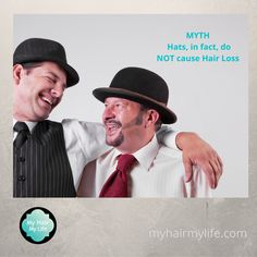 Hair Loss Specialist, Common Myths, Wearing A Hat, Hair Inspo, Happy Friday, Rest, How To Wear, Life, Fashion