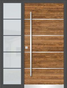 Sonderaktion !! Haustüren Fichte Astig gebürstet Altholz Effekt mit Seitenteil Entry Doors, Diy And Crafts, Steel, Imvu, Inspiration, Furniture, Home Decor, Entrance Gates, Houses