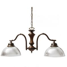 """""""Manufactured in Ireland, this quality solid brass and prismatic holophane glass pendant is reminiscent of modern industrial pendants. Kitchen Island And Table Lighting, Rustic Kitchen Lighting, Rustic Kitchen Island, Pool Table Lighting, Kitchen Pendant Lighting, Farmhouse Lighting, Bar Lighting, Cozy Kitchen, Ceiling Pendant"""