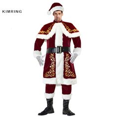 # Low Price Kimring Deluxe Santa Claus Christmas Costumes Jolly Ole St. Nick Santa Adults Men Costume Uniform Kimono Xmas Christmas Costume  [ST1Puv2D] Black Friday Kimring Deluxe Santa Claus Christmas Costumes Jolly Ole St. Nick Santa Adults Men Costume Uniform Kimono Xmas Christmas Costume  [oWzM2Bj] Cyber Monday [826WHD]
