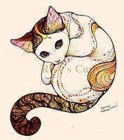 looking cat by ~rivyinrivendell on deviantART