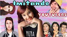 IMITANDO YOUTUBERS (Yuya, Juanpa Zurita, Los Polinesios, Germán, Juanxita, Karol Sevilla) - YouTube
