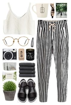 Sunday Funday !! by kirvil on Polyvore featuring Marni, GlassesUSA, Monki, Aesop, Forever 21, Linum Home Textiles, Broste Copenhagen, Maison Bereto and Fujifilm