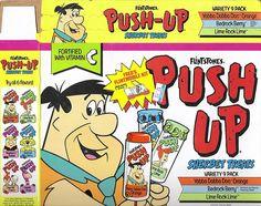 Flintstones Push Pops.