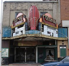 Colonial Bluefield, WV2 by Seth Gaines, via Flickr    so sad... I especially loved the lobby of the movie theater.