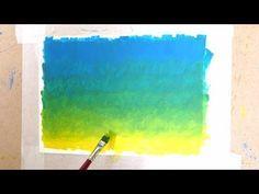 Como hacer una gradación de color con diferentes técnicas de pintura - YouTube Sketches, Lettering, Youtube, Drawings, Pictures, Painting, School Ideas, Pastel, Pen And Wash