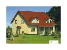 Rosenstein - #Doppelhaus von VIVA MASSIVHAUS GmbH   HausXXL #Energiesparhaus #Passivhaus #klassisch #Satteldach