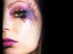 petrilude: MakeupByRisa: Feathered Explosion