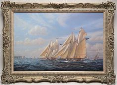 S. Francis Smitheman Oil on Canvas | August 6, 2016 Auction at Rafael Osona Auctions Nantucket, MA